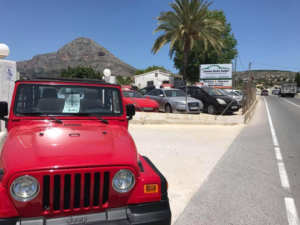 Javea Cars For Sale
